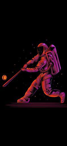 Astronaut Baseball Wallpaper - Wallpaper Sun