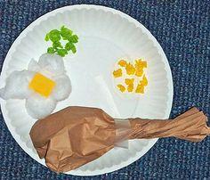 Preschool Crafts for Kids*: Thanksgiving Turkey Dinner Paper Craft maybe change to favourite food Thanksgiving Dinner Plates, November Thanksgiving, Thanksgiving Preschool, Thanksgiving Crafts For Kids, Preschool Projects, Daycare Crafts, Kids Crafts, Preschool Activities, Preschool Food