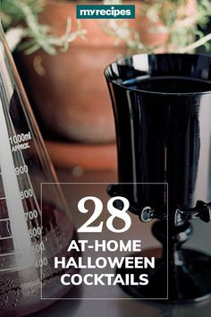 Bottoms up for delicious, fun, and frightfully good cocktails. Having a signature Halloween drink is the easiest way to save money on a party, and it lets you really have fun with the theme. Decide whether you want a single drink idea, like Zombie Brain Shots, or an easy loaded with eyeballs. Whatever you choose, don't skip the ! They're every Halloween cocktail's best friend! Hungry for more spooky ideas? Check out next.#halloweentreats #halloween #easyhalloweentreats
