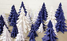 Origamikuuset Origami, Christmas Cards, Flag, Diy, Shopping, Home Decor, Blue Green, Papercraft, Embellishments