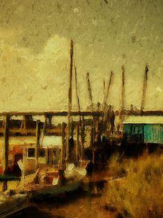 Shrimp Boats, Tybee Island, Savannah, GA