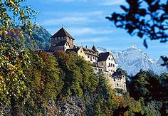 Vaduz, Liechtenstein.  Loved the snowy mountain backdrop.
