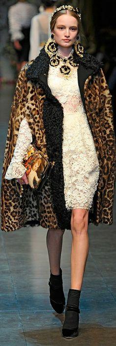 Dolce and Gabbana, Autumn/Winter 2012, Ready to Wear
