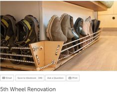 I would place bungee shoe rack anywhere in my bus! I would place bungee shoe rack anywhere in my bus! I would place bungee shoe rack anywhere in my bus! I would place bungee shoe rack anywhere in my bus! Camping Ideas, Caddy Camping, Camping Signs, Camping Hacks, Rv Camping, Camping Activities, Rv Hacks, Couples Camping, Family Camping