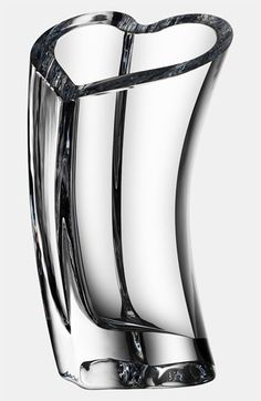 Orrefors Heart Crystal Vase