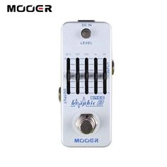 59.25$  Buy now - http://ali6iz.shopchina.info/go.php?t=801292795 - MOOER Graphic B 5-Band Bass Equalizer Pedal,5-Band Graphic EQ with master level control /free shipping  #shopstyle