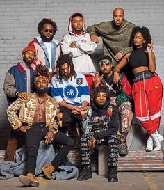 The Dreamville Crew Rapper Wallpaper Iphone, Rap Wallpaper, Wallpaper Ideas, Tyler The Creator Wallpaper, Rap Album Covers, Rapper Art, Rapper Quotes, Young Simba, Make Mine Music