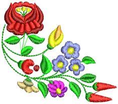 Kalocsai hímzésminta 323 Bowser, Embroidery Patterns, Folk Art, Cross Stitch, Quilts, Fictional Characters, Florals, Vintage, Cocktail