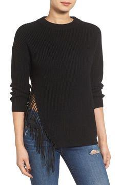 devlin Mariah Split Hem Sweater available at #Nordstrom