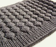The Java Cowl, designed by Melanie Rice. Keep warm at your favorite coffee house; knit yourself a java cowl… A neatly textured fabric insulates without being too hot, and tucks just under your jacket.