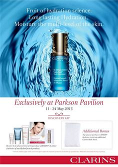 11-24 May 2015: Parkson Clarins Special Promotions