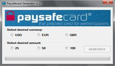 Paysafecard Code Hack Generator