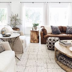 """Heather Bullard on Instagram: """"I've been searching for a large 12x12 square rug for our great room and finally found the perfect one with @FLOR Love how it's both modern and cozy. #winwin #GroveHouseLiving"""""""