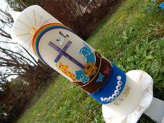 Kerzen zur Taufe Taufkerzen Taufkerze Arche Noah  Junge Mädchen  TKR112 NEU
