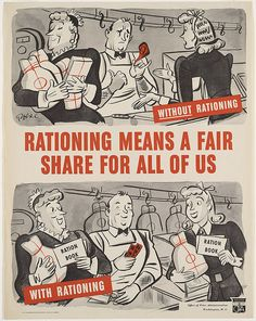 They make rationing look like jolly good fun - 1943