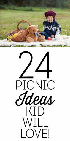 24 Picnic Ideas Kids Will LOVE!