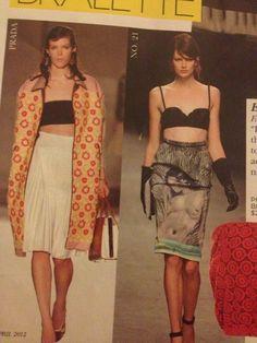 Bralet and skirt