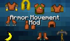 Armor Movement Mod para Minecraft 1.4.5