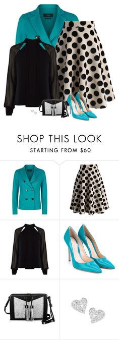 """""""2nd jan"""" by divacrafts ❤ liked on Polyvore featuring Weekend Max Mara, Chicwish, Karen Millen, Gianvito Rossi, Carianne Moore, Vivienne Westwood and Original"""