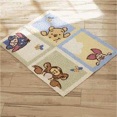 Disney Winnie The Pooh Soft And Fuzzy Rug Ebay Nursery
