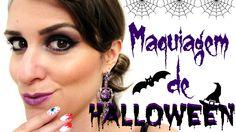 Maquiagem de Halloween: Bruxa Chic (Halloween Makeup Tutorial)
