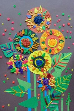 best ideas kindergarten clay art projects for kids Kids Crafts, Easy Fall Crafts, Diy And Crafts, Arts And Crafts, Paper Crafts, Clay Art Projects, Projects For Kids, Painting For Kids, Art For Kids
