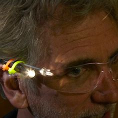 23 Zip Tie Hacks That Make DIYing a Cinch sed zip ties to attach mini flashlights to a pair of safety glasses. Now I use this pair whenever I climb into the attic or do any repairs in unlighted spaces. Everywhere I look is illuminated. Wood Turning Lathe, Wood Turning Projects, Turning Tools, Pipe Insulation, Bathroom Sink Drain, Kitchen Sink, Lathe Projects, Handyman Projects, Learn Woodworking