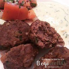 Albóndigas turcas - Kofte | BEGORECETAS -RECETAS CON OLLAS GM Y COCINA TRADICIONAL