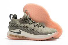 "7cd31e78bde8 Nike LeBron 15 Low ""Dark Stucco"" Light Bone Dark Stucco-Sail AO1755-003"