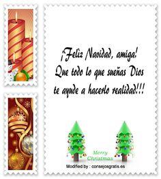 carta para enviar en Navidad,descargar mensajes para enviar en Navidad: http://www.consejosgratis.es/frases-de-navidad-mensajes-de-navidad/