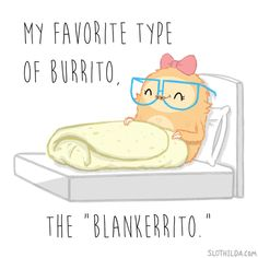 Slothilda Sloth Burrito Blanket