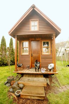 This Woman Moved to an 84-Square Foot Cottage to Save Her Own Life