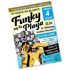 Cartel de Funky en la Playa