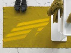 Tapete de tecido para banheiro DRAI Coleção DRAI by Society Limonta