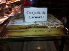 Cuajada de Carnaval  Granada , Spain typical food in February   Click to read more about Granada calendar dates & fiestas