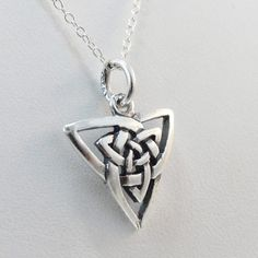 FashionJunkie4Life - Celtic Knot Necklace in Sterling Silver, $16.00 (http://www.fashionjunkie4life.com/celtic-knot-necklace-in-sterling-silver/)