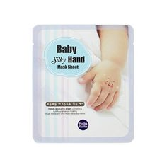 [Holika Holika] Baby Silky Hand Mask Sheet 2 Sheet for 1 Use Moist Hands Pack: # How to Use Wash hands and open the pouch. Split mask sheets and put it on. Leave it for minutes and remove. K Beauty, Health And Beauty, Rough Hands, Soft Hands, Massage, Baby Skin Care, Baby Hands, Hand Care, Facial Masks