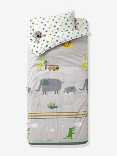 Sisi Baby Design Diaper Changing Table Pad Cover Jungle Animal