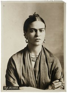 Frida Kahlo, by Guillermo Kahlo, 1932 ©Frida Kahlo Museum - Museum of Latin American Art, Long Beach | Frida Kahlo: Her Photos | Artsy