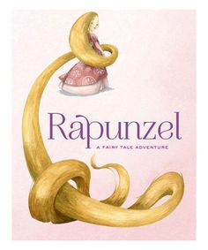 Rapunzel Hardcover #zulily #zulilyfinds