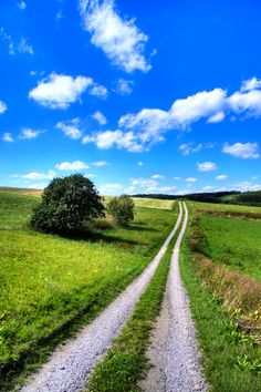 Countryside in Rieden, Germany...all countries like to take a backroad
