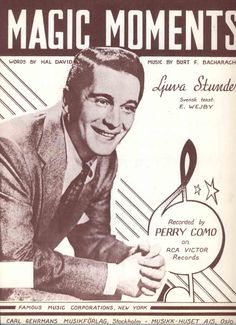 April 1958, Perry Como, Magic Moments.
