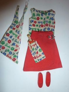 """VINTAGE SKIPPER DOLL OUTFIT """"DAY AT THE FAIR #1911 (1965-6) COMPLETE -MATTEL"""
