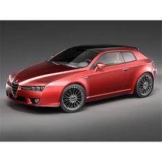 Alfa Romeo Brera - 3D Model