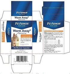 Petarmor Worm-away Caps Cats 12 Ct *** Want additional info? Click on the image. (This is an Amazon affiliate link)