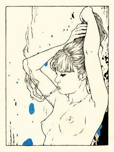 été 1981: The Ponytail Delphine Cauly