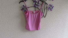 Oasis cami vest top pale pink Rose  Bud Straps  size 14