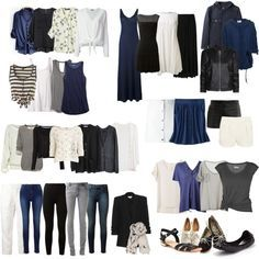 """""""Capsule Wardrobe 1"""" by candichi on Polyvore"""