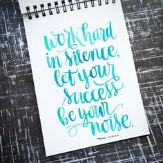 Brush Lettering – Instagram 365 Project – #KWDesign365quotes