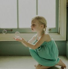 & i'd rather chase bubbles than butterflies. ♥